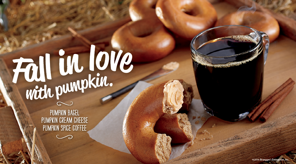 Pumpkin Spice Coffee | Bruegger's Bagels