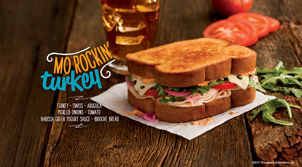 Mo Rockin' Turkey Sandwich | Bruegger's Bagels