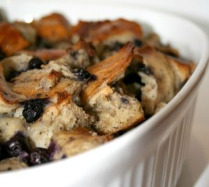 Recipe | Blueberry Breakfast Casserole | Bruegger's Bagels