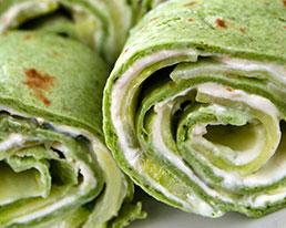 Recipe | Smokey Salmon & Cucumber Pinwheels | Bruegger's Bagels