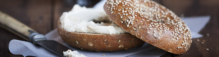 Bruegger's Bagel and Cream Cheese