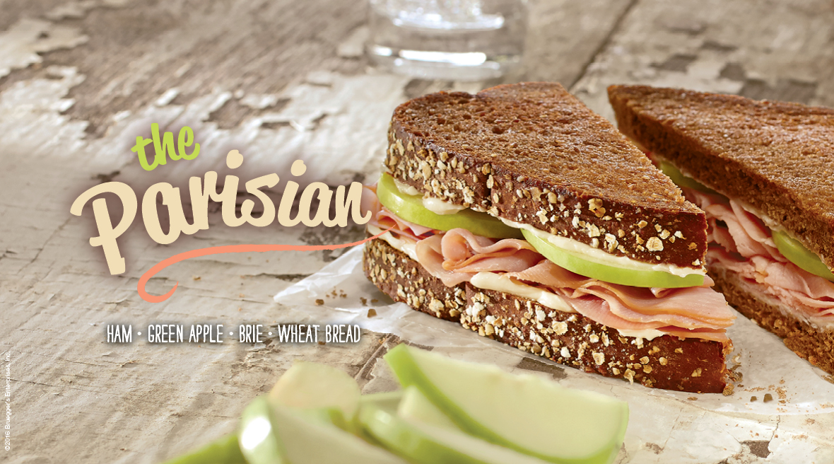 The Parisian Sandwich from Bruegger's Bagels new spring menu