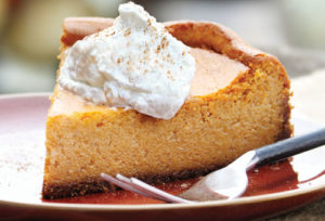 Recipe | Classic Pumpkin Cheesecake | Bruegger's Bagels
