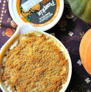 Recipe | Three Cheese Pumpkin Mac & Cheese | Bruegger's Bagels