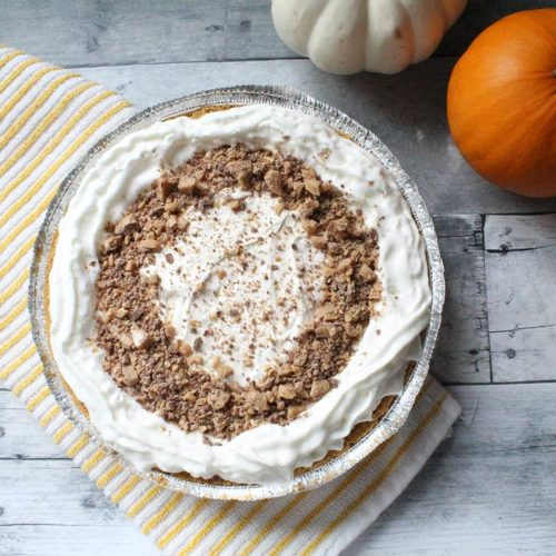 Pumpkin Toffee Pie Recipe | Bruegger's Bagels