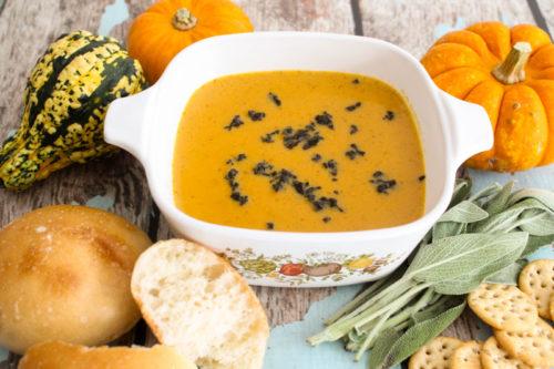 Creamy Pumpkin Soup Recipe | Bruegger's Bagels