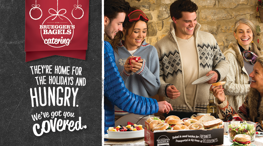 Holiday Catering | Save $10 | Bruegger's Bagels