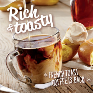 French Toast Coffee   Bruegger's Bagels
