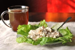Recipes | Creamy Ranch Bagel Chicken Salad | Bruegger's Bagels