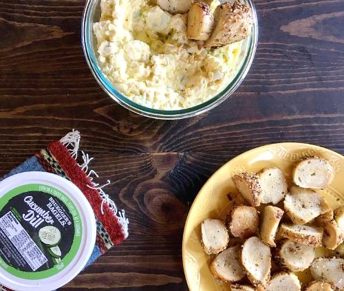 Recipes   Cool Cucumber Egg Salad   Bruegger's Bagels