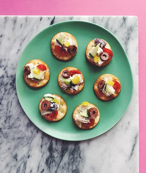 Recipes | Greek Chicken Salad | Bruegger's Bagels