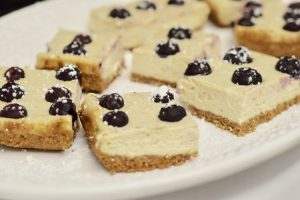 Recipes | Blueberry Cheesecake Bars | Bruegger's Bagels