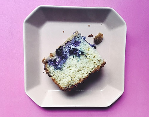 Recipe | Blueberry Cream Cheese Coffee Cake | Bruegger's Bagels