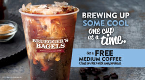Inner Circle Members get a free medium coffee with any purchase