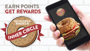 Download the Bruegger's Mobile App today!