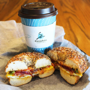 Several Minnesota Bruegger's are now serving Caribou Coffee