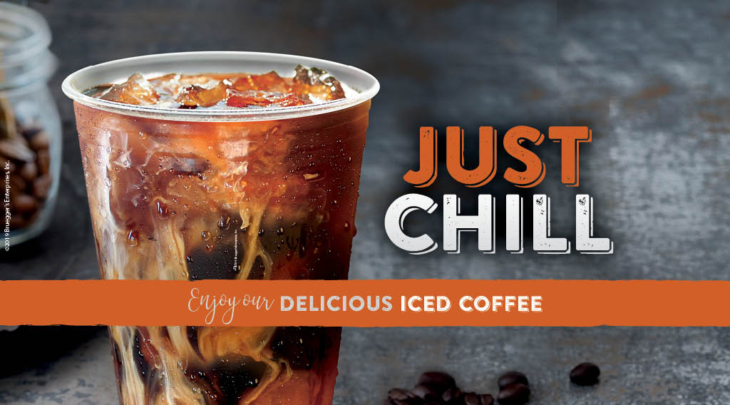 Cool down this summer with your favorite coffee blend on ice.