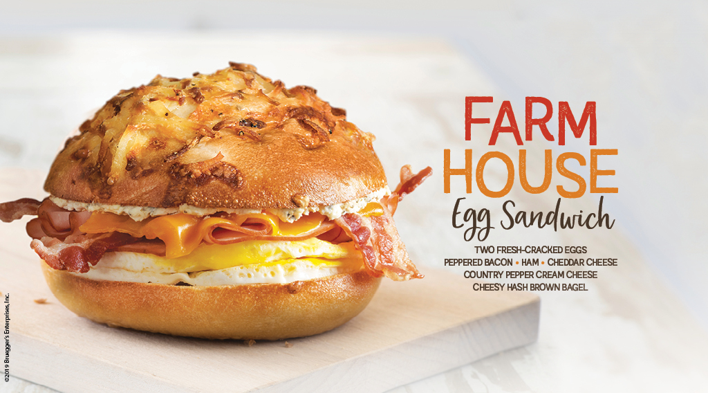 Authentic New York-Style Bagels | Bruegger's Bagels | Home