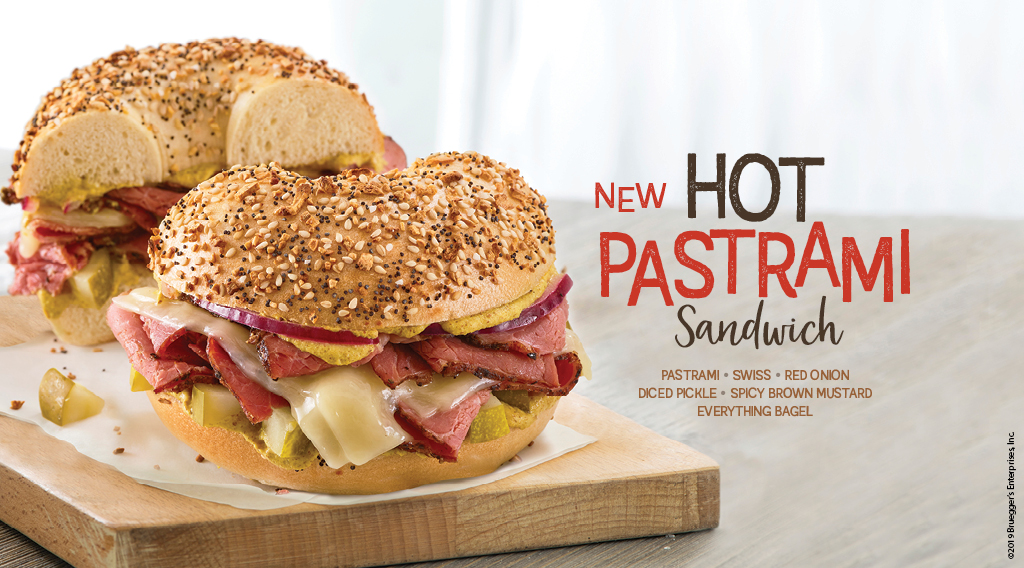 A new lunch sandwich staple, Hot Pastrami, is now here.