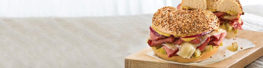 Bruegger's Lunch Sandwich Menu