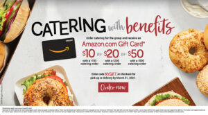 ROTATING SLIDER: Get Rewarded when you cater with us!