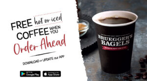 ROTATING SLIDER: Try our new and improved app - Get Free Coffee when you ORDER AHEAD using our App!