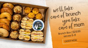 We'll Take Care of Brunch, You Take Care of Mom – Order a Brunch Box for Mother's Day