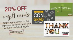 20% Off E-Gift Cards for Dads & Grads