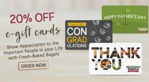 Advertisement for 20% off e-gift cards for Father's Day